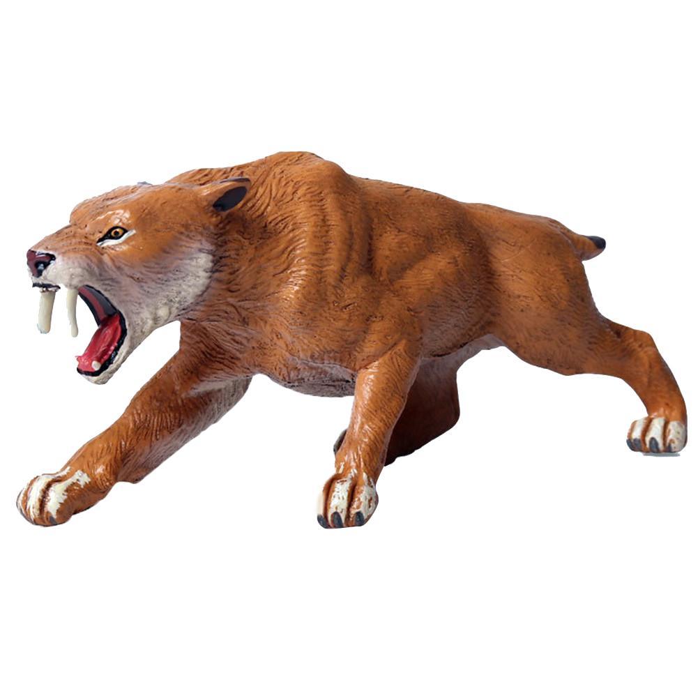 Juguete para regalo para niños, juguete para regalo con dientes de Tigre, simulación de Animal