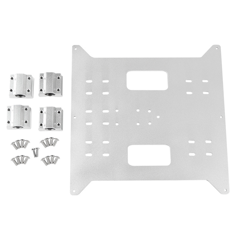 Replacement Upgrade Aluminum Y Axis Carriage Aluminum Plate + Sc8Uu Slider Kit for Wanhao Maker Select Duplicatior I3 and Anyc-in 3D Printer Parts & Accessories from Computer & Office