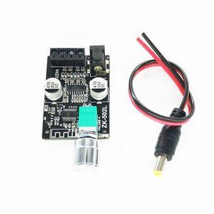 Image 4 - ZK 502L MINI 5.0 wzmacniacz Bluetooth pokładzie bezprzewodowy Audio cyfrowy moc 2x50W podwójny kanał Stereo Amplificador 95AD