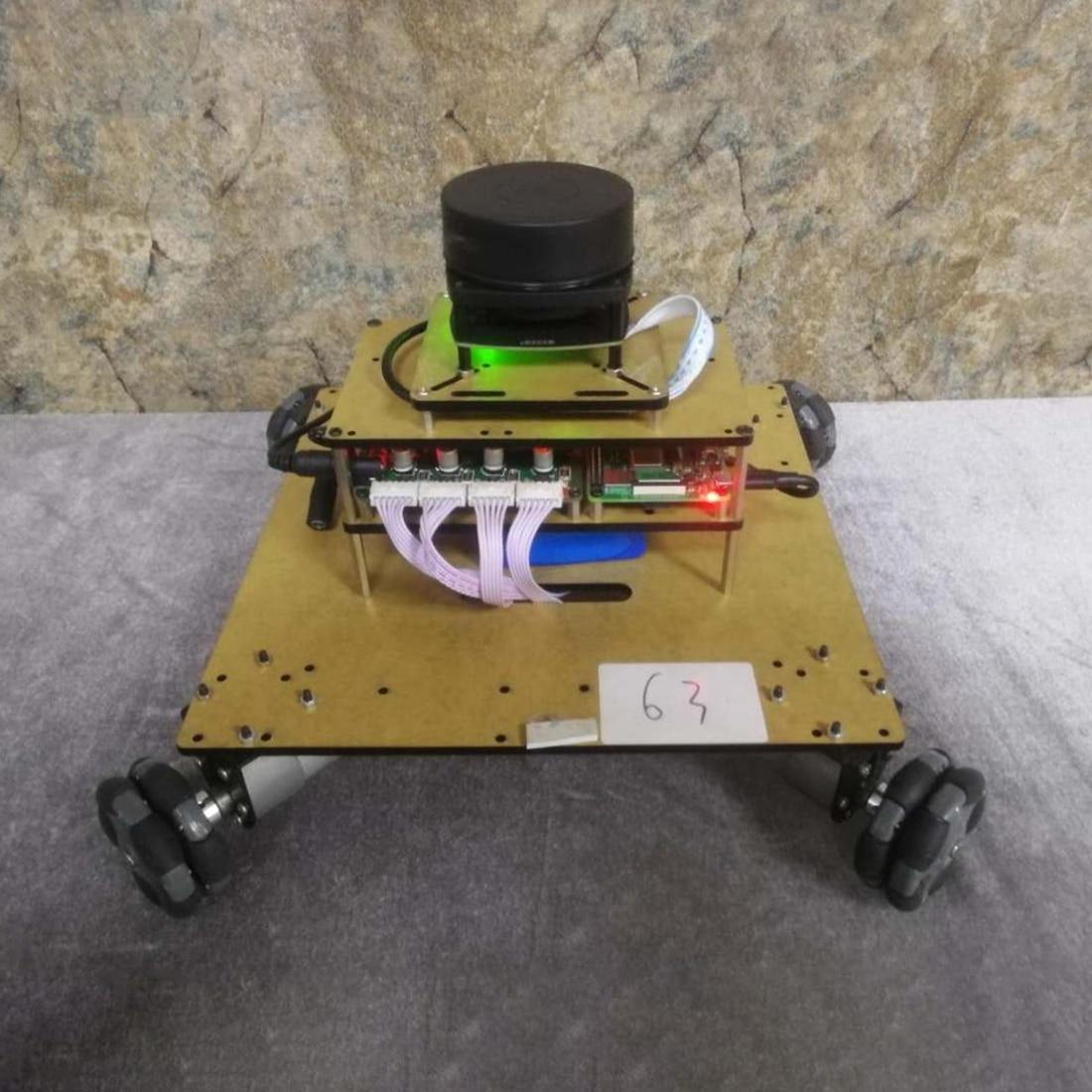 Robot Operating System Ailibot Omnidirectional Robot Car Kit Programmable Toys Set Kids Adults Christmas Gift - 03 / 04 Version
