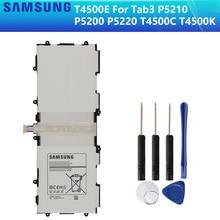 SAMSUNG batería Original T4500C T4500E T4500K para Samsung GALAXY Tab3 P5210 P5200 P5220, batería de tableta auténtica de 6800mAh
