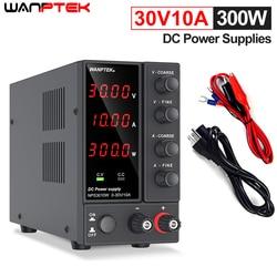 Лабораторный Регулируемый источник питания Wanptek постоянного тока 60 в 5 А, регулятор напряжения 30 в 10 А, стабилизатор, импульсный источник пит...