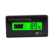 8-70 в ЖК-дисплей свинцово-кислотная литиевая батарея индикатор емкости напряжение тест er вольтметр батарея инструменты для тестирования