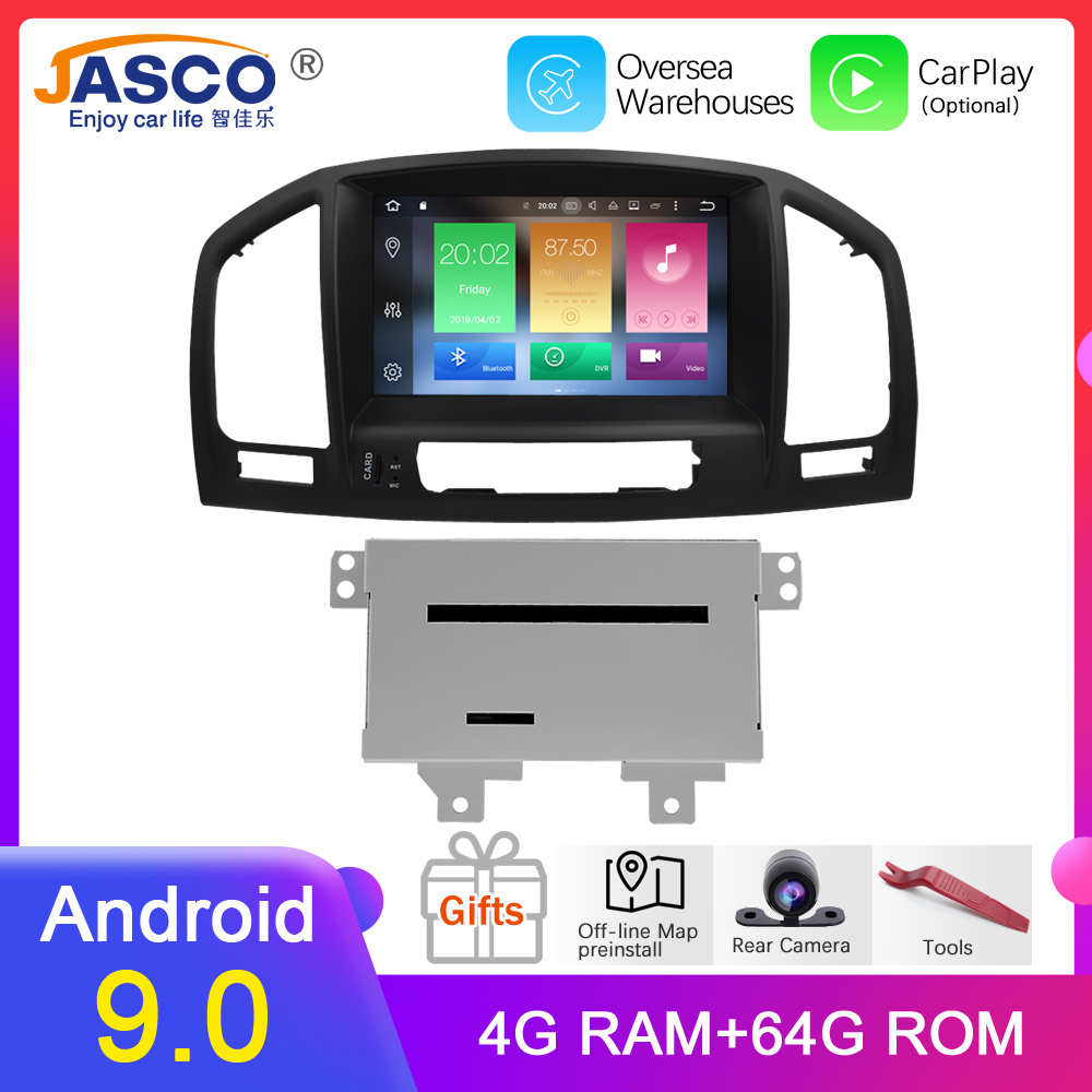 Android 9.0 Car DVD Player GPS Navigation multimedia for Opel Insignia CD300 CD400 Regal Vauxhall 2010 2011 2012 Radio Stereo|Car Multimedia Player| |  - title=