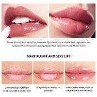SANIYE Fruity Lip Gloss Mini Capsule Transparent Waterproof And Long Lasting Moisturizing Lip Gloss Plump Lipstick Makeup L1159 2