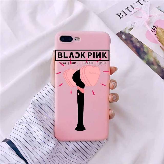 BLACKPINK THEMED IPHONE CASE (18 VARIAN)