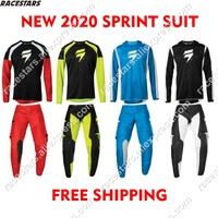 SHIFT 2020 MTB Jersey Cycling Set Collection Pant and Jersey Combo Motocross Gear Set Racing Gear Suit Clothing Motocross Suit