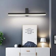 ECOBRT 14W Bathroom Wall Lights LED Mirror Light Acrylic Front Make-up Lighting Fixture