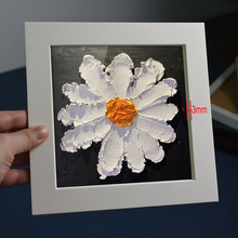 Oil-Painting Cardboard Specimens Preservation Photo-Frame of Flowers Dried Art-Work Hollow