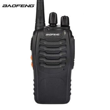 2PCS BaoFeng BF-888S Walkie Talkie Handheld Two Way Radio BF 888s UHF 400-470MHz Walkie-Talkie Transceiver