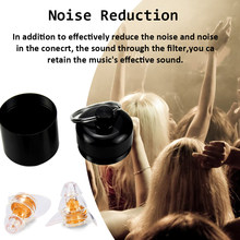 ZOHAN One Pair Soft Silicone EarPlugs Professional music Ear Plugs Washable Reusable Hearing Protection Noise Reduction Ear Plug(China)