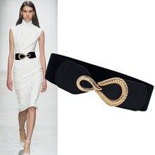 Women s Fashion Belt All Match Decorative Dress with Suit Coat Accessories Shirt Elasticated Waist Wide Waist Seal