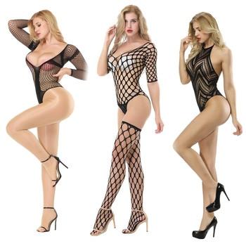 Women Erotic Teddy Bodysuit INTIMATES Plus Size