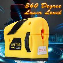360 degrees Mini Style Self-Leveling Laser Level Horizontal Vertical Cross Line Measurement Gauge Tool(China)