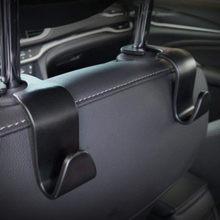1/2 pçs universal assento de carro volta gancho acessórios do carro interior portátil cabide titular de armazenamento para saco de carro bolsa pano decoração