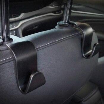 1 2Pcs Universal Car Seat Back Hook Car Accessories Interior Portable Hanger Holder Storage for