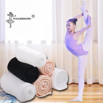 Children Girls Ballet Dance Convertible Tights Kids Adult Nylon Leggings Gymnastics Pantyhose 80D 90D - discount item  30% OFF Stage & Dance Wear