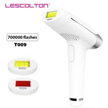 Lescolton آلة إزالة الشعر بالليزر IPL آلة إزالة الشعر بالليزر الدائم الوجه مزيل الشعر الإبط بيكيني المتقلب الكهربائية Depilador