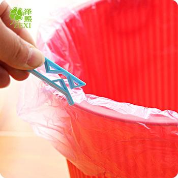 Trwały kosz na śmieci klips do torebek kosz na śmieci kosz na śmieci kosz na śmieci kosz na śmieci kosz na śmieci kosz na śmieci kosz na śmieci klips do torebek akcesoria kuchenne tanie i dobre opinie CN (pochodzenie) H12H12 Z tworzywa sztucznego Ekologiczne Na stanie Blue 5 5 x 1 4 x 0 9cm Plastic
