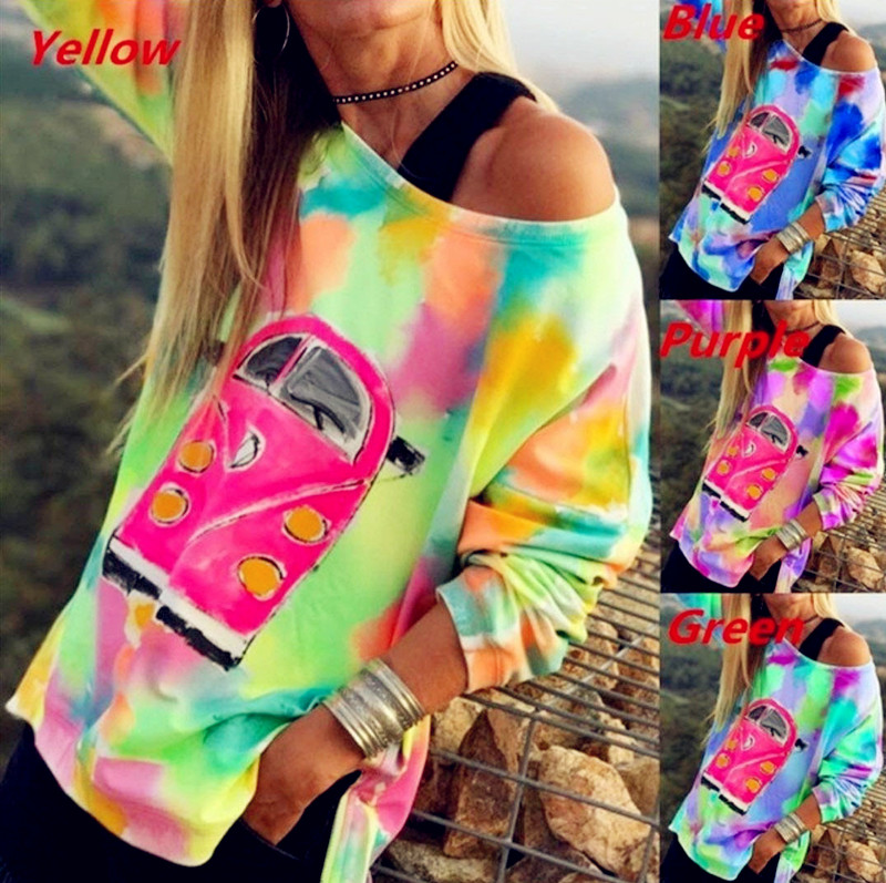 2020 Spring Winter Women Boho Tees Tops Plus Sizes Blouse Big Large Colors Befree Shirts Loose Casual Vintage Full Long Sleeve