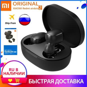 NEW Original Xiaomi Redmi Airdots 2 Wireless Bluetooth 5.0 redmi earbuds 2 Wireless Eeaphones With Mic Handsfree AI Control