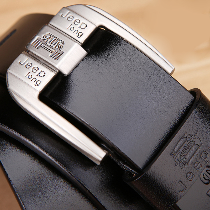 Luxury Brand Designer Male Business Belts For Men For Jeans High Quality Genuine Leather Alloy Pin Buckle Belt Men Vintage 2020