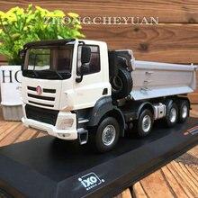 Коллекционная модель из сплава IXO 1:43 Масштаб Татра Феникс 8X8 самосвал конструирование грузовика машины литья под давлением игрушка модель украшения