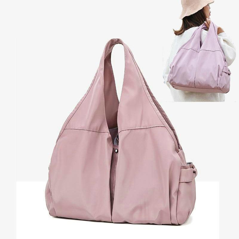 Fitness Bags For Women Pink Gym Bag Girl Yoga Training Bags Outdoor Travel Storage Handbag Sport Gym Duffel Luggage Tote Bag
