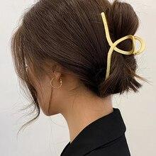 Metal Hair Headwear Ornaments Hair-Accessories Crab-Bands Claws Barrettes Girls Women