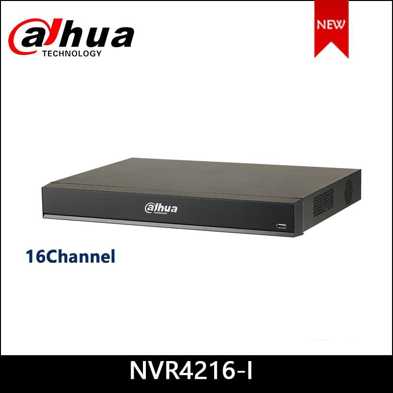Dahua NVR NVR4216-I 16Channel 1U AI Network Video Recorder 16 Channel IP Video Access Smart H.265+