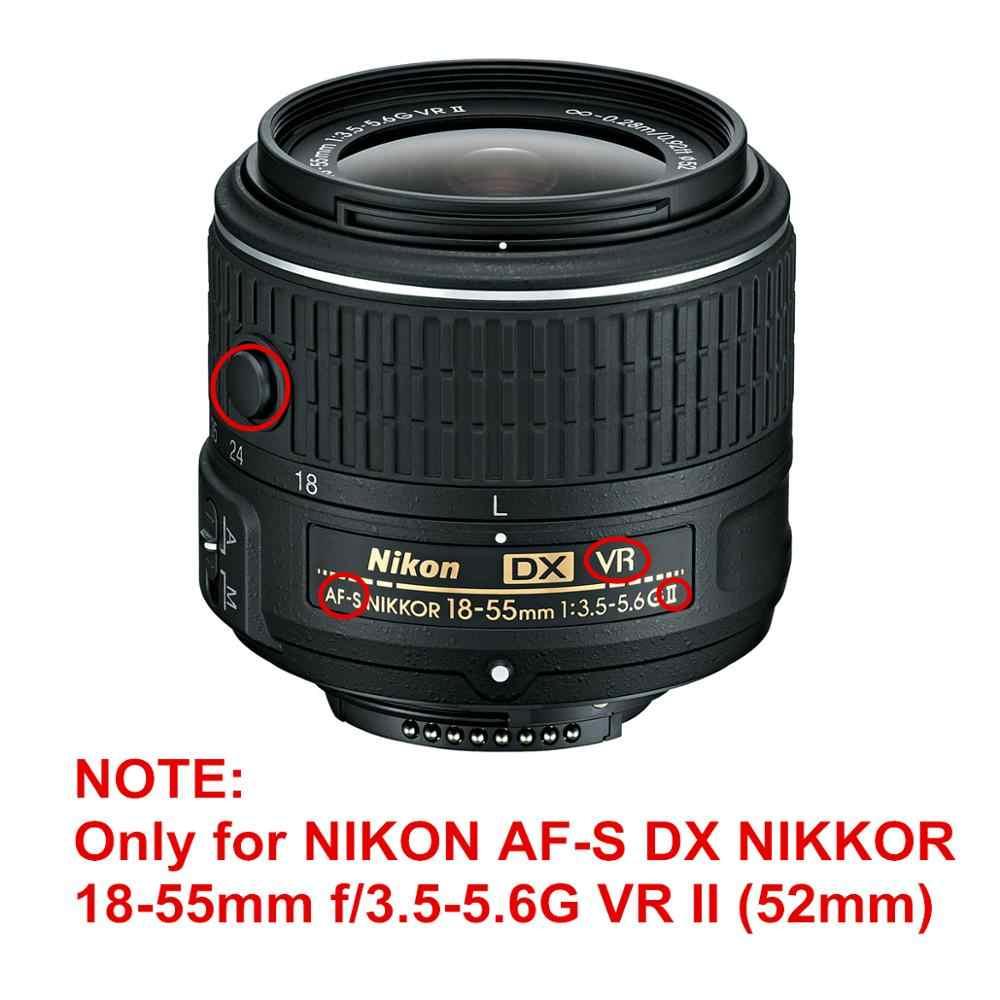 Petal çiçek Lens Hood yerine HB-69 Nikon AF-S DX Nikkor 18-55mm f/3.5-5.6G VR II/18-55mm F3.5-5.6 G VR II HB69 HB 69