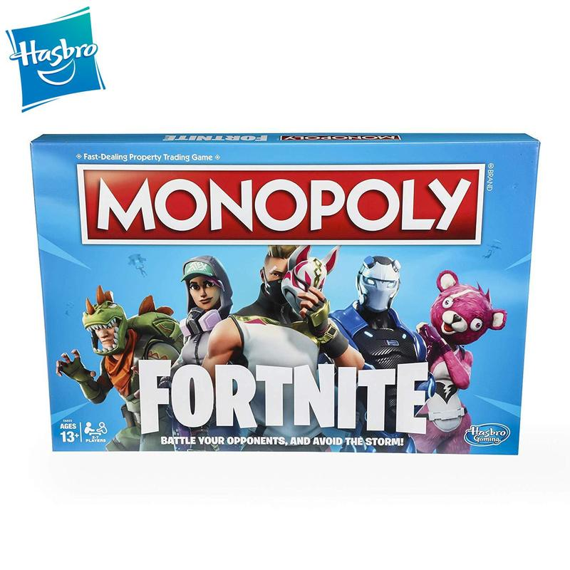Hasbro Gaming MONOPOLY FORTNITE Edition  Board Game Play Educational Toys English Version