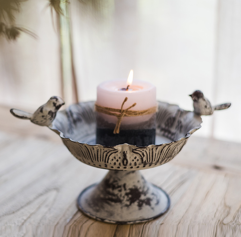 Outdoor Modern Mercury Metal Stand Candlesticks Vintage Beautiful Candle Holders Glamour Portavelas Pared Home Decoration