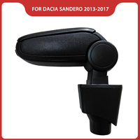 Free Shipping FOR RENAULT DACIA LOGAN SANDERO/STEPWAY 2013 2017 Car ARMREST,Car Accessories parts Center Console Box Arm Rest