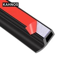 Joints détanchéité en caoutchouc pour porte de voiture, Type P, bande détanchéité Anti poussière, isolation phonique