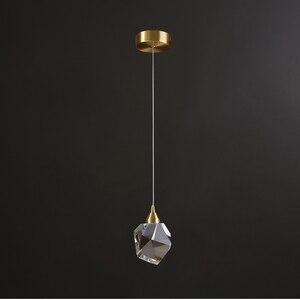 Image 5 - จี้คริสตัลโมเดิร์นโคมไฟทองแดงหลอดไฟAC110V 220V Luster LEDห้องรับประทานอาหารและบาร์