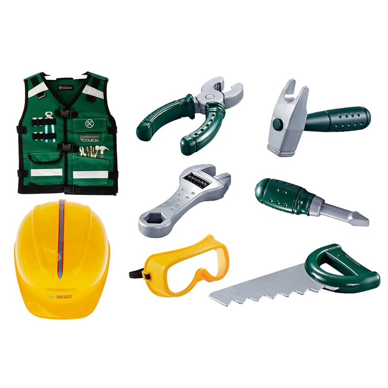 Hot-Toys Repair Tools Toys DIY Play House Repair Simulation Tools Toy Set For Children And Boys Gifts AS167997