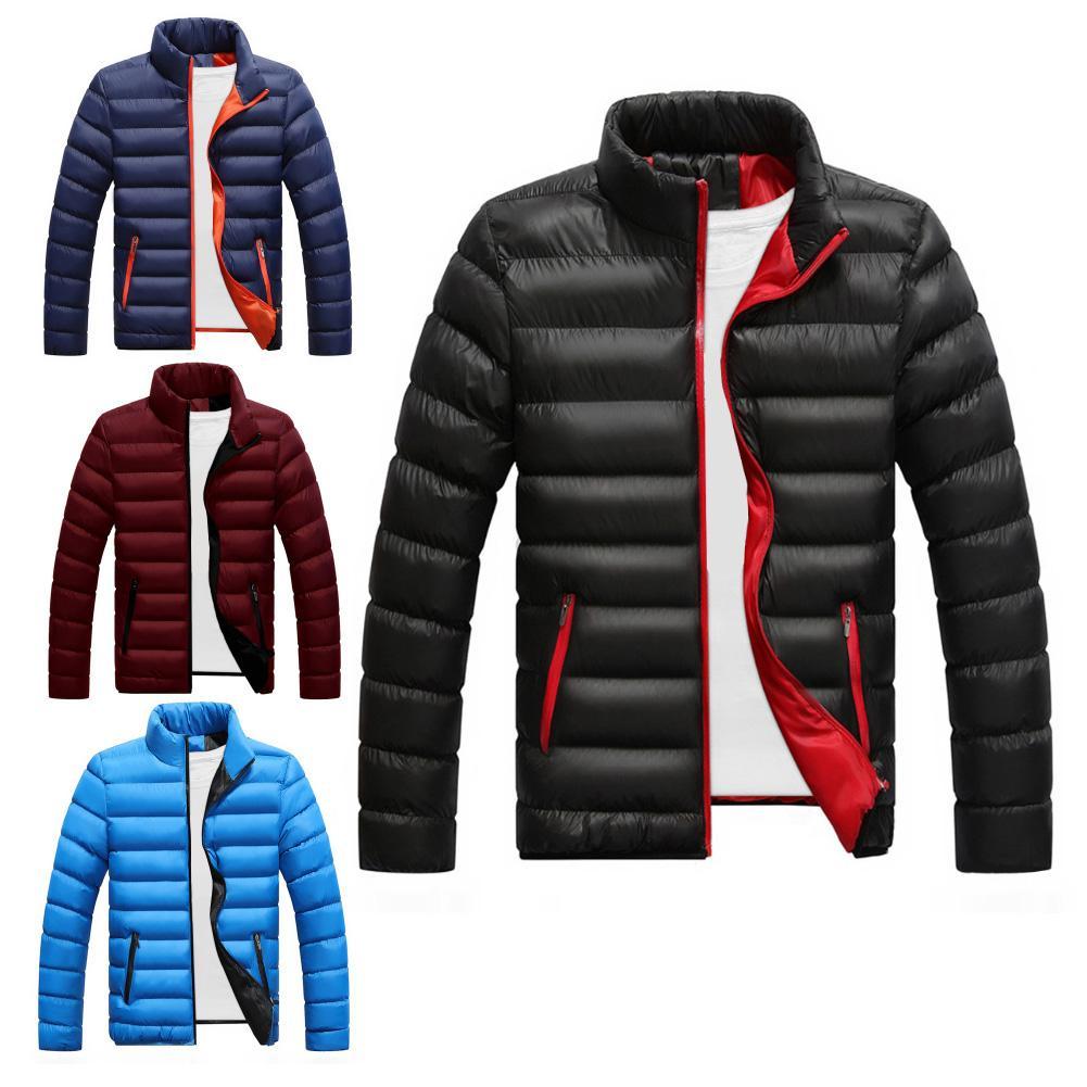 Casual Mens Jackets Coats Winter Warm Men Jacket Coat Casual Jacket Sports Slim Jacket Streetwear Coats Men Outerwear Coats