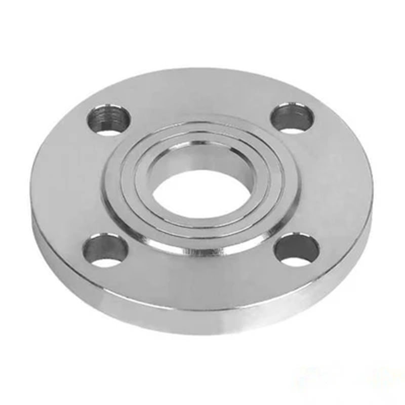 304 Stainless Steel PN10 Plated <font><b>Flange</b></font> With Four Bolt Holes <font><b>DN15</b></font> <font><b>Flange</b></font> image