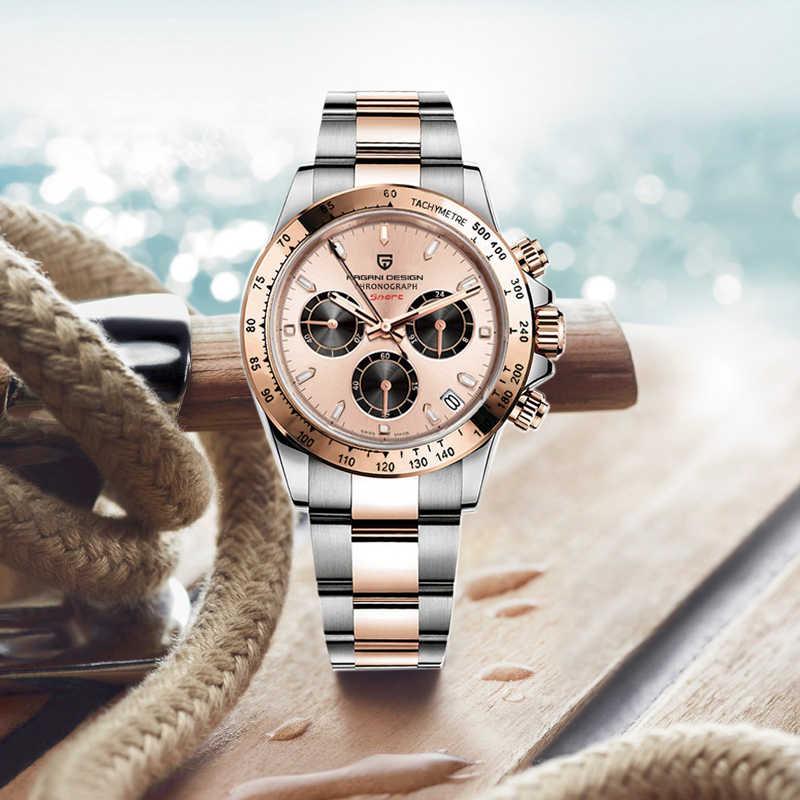 2020新パガーニデザインブランド高級腕時計男性クォーツ腕時計メンズクロノグラフ腕時計自動日付男性レロジオmasculino