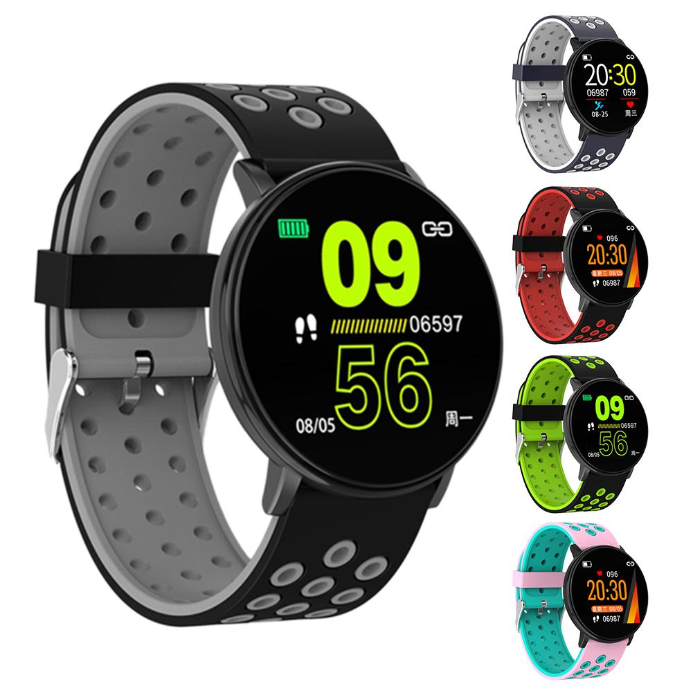 <font><b>Smart</b></font> <font><b>Watch</b></font> Heart Rate Monitor Fitness Tracker Stopwatch Pedometer Calorie Sport <font><b>Watch</b></font> 1.3 Inch for Men and Women image