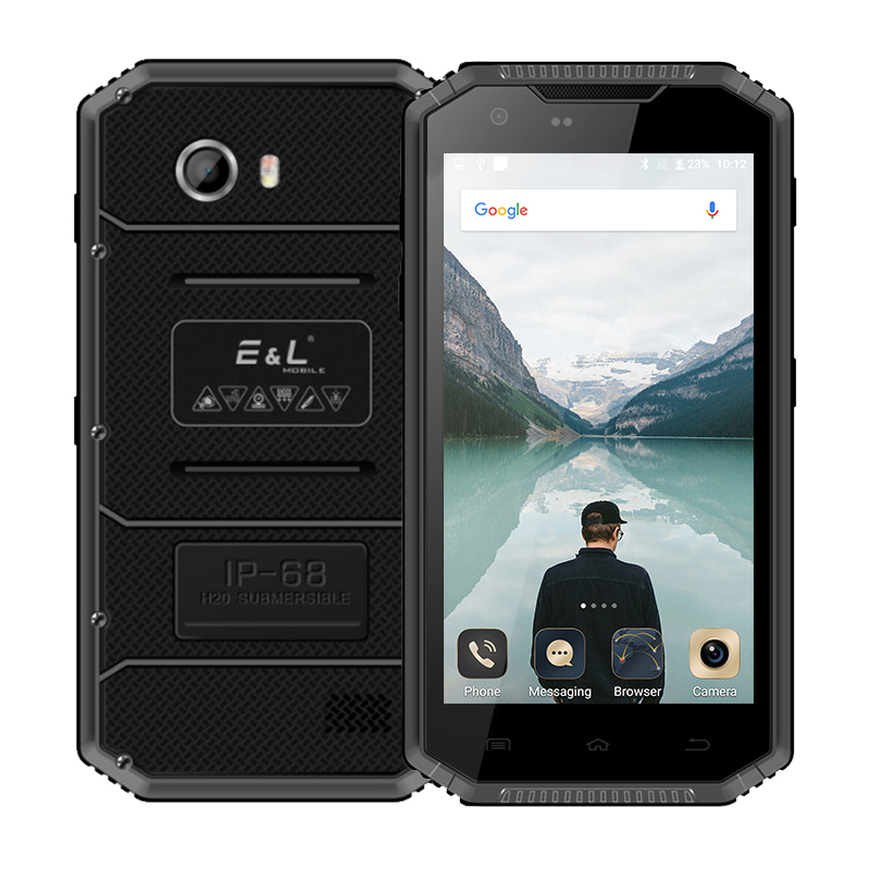 KXD E&L Proofing W7S IP68 Rugged Phone Android 6.0 MTK6737 1.3GHz Quad Core 2GB RAM 16GB ROM 5