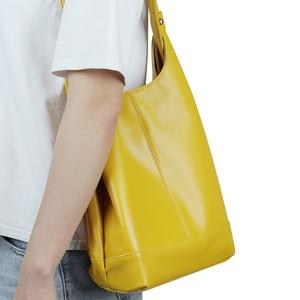 Image 3 - JOGUJOS Genuine Leather Handbag Fashion Women Shoulder Messenger Bag Leather luxury Ladies Tote Bags for Women Brand Handbags