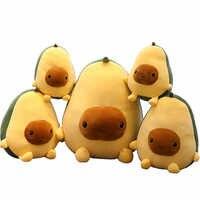 Abacate frutas planta de pelúcia brinquedos kawaii dos desenhos animados bonito recheado boneca almofada meninos meninas anti estresse almofada travesseiro para crianças