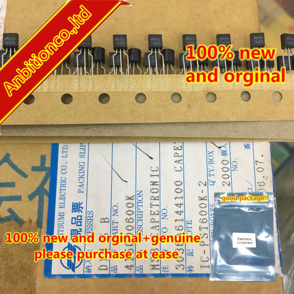 10pcs  100% New And Orginal  PST600K-2 T600K TO-92 In Stock