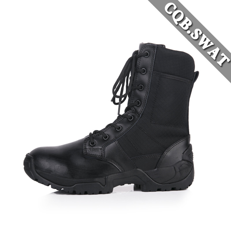 Ultra-Light Combat Boots CQB. Swat Black Gods Lightweight Combat Boots Shock Absorption Hight-top Outdoor Tactical Boots Combat