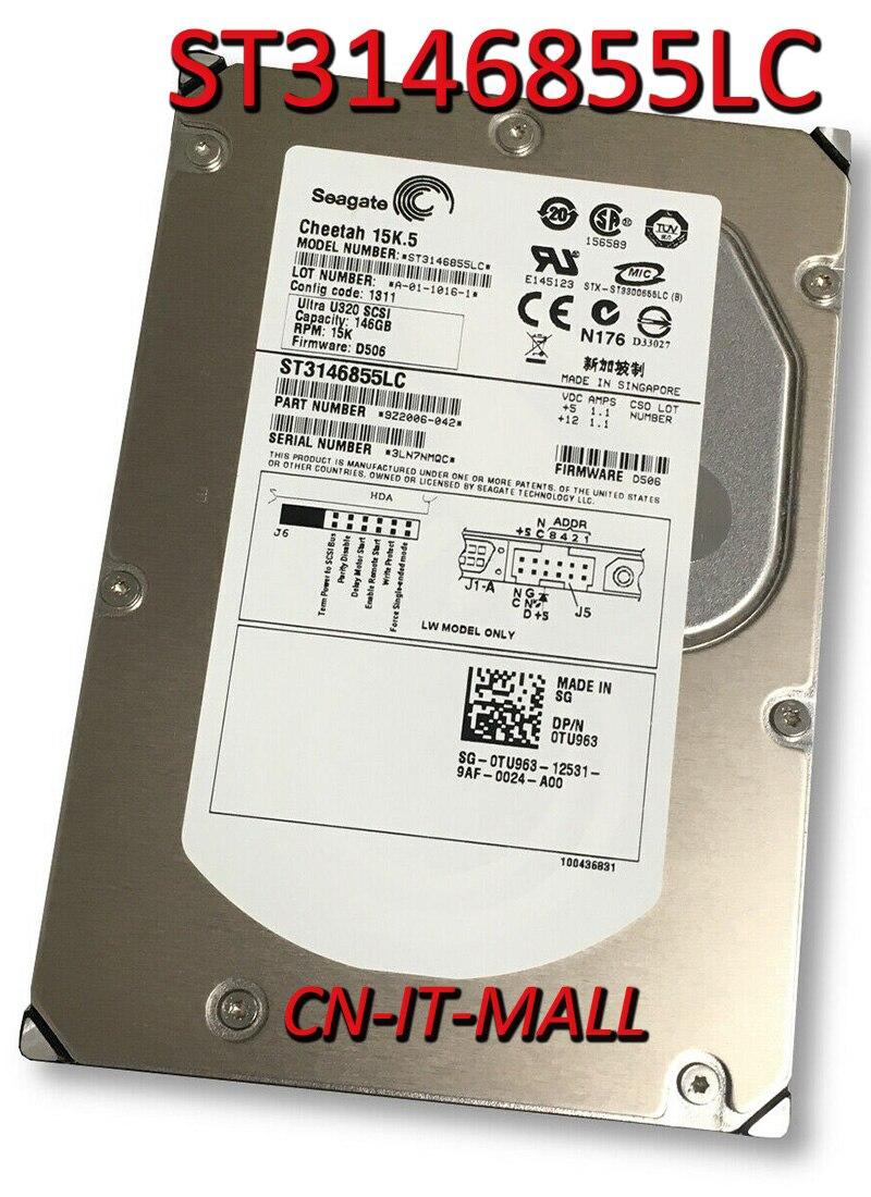 Seagate Cheetah 15K.5 ST3146855LC 147 ГБ 15000 об/мин 16 Мб кэш SCSI Ultra320 80pin 3,5