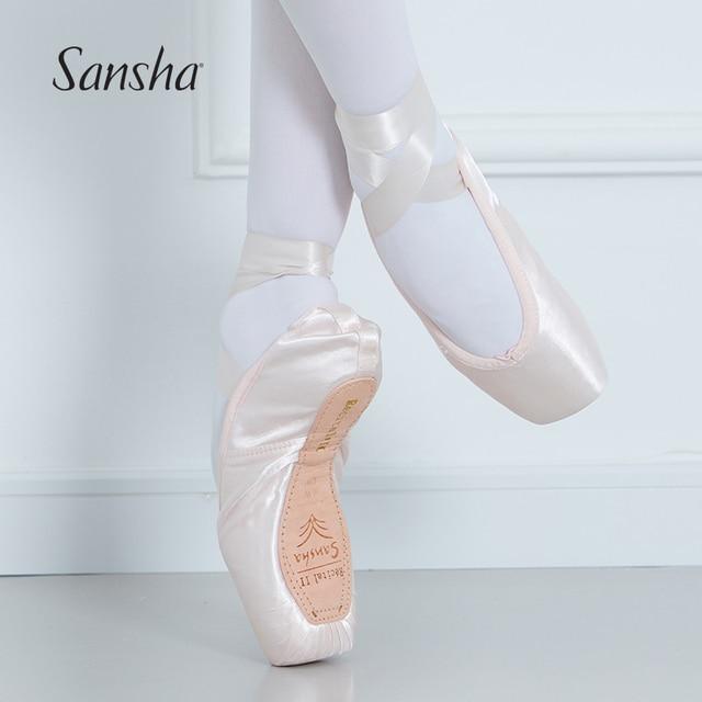 royal blue Sansha pointe shoes bags red purple