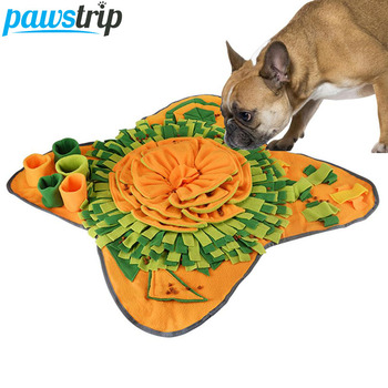 Pet Dog Snuffle Mat Pet Sniffing Training Pad Blanket Puzzle Dog Mat Relieve Stress Nosework Dog Toy Pet Dog Slow Feeding Feeder 1