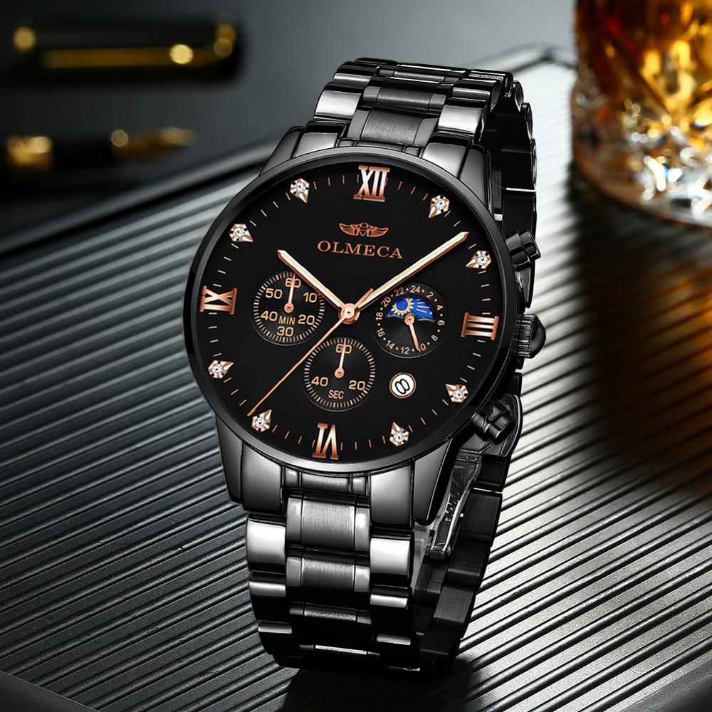Waterproof Men's Sports Watches Multi-functional Waterproof Non-mechanical Quartz Watches Custom Watches Men's Wholesale